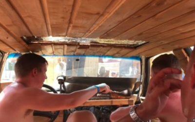 The Estonian Sauna Car – The Saunadi