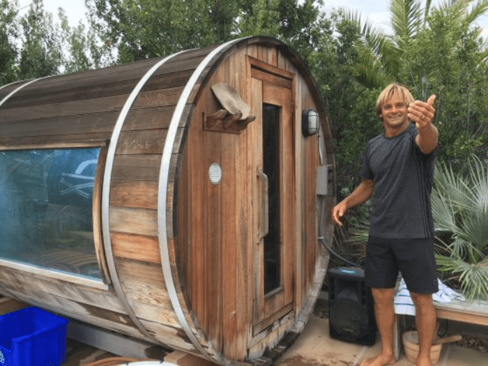 Laird Hamilton –  Legendary Surfer and Sauna Enthusiast