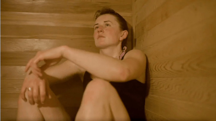 The Woman Who Converted her Garage into a Sauna