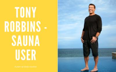 Tony Robbins and Sauna