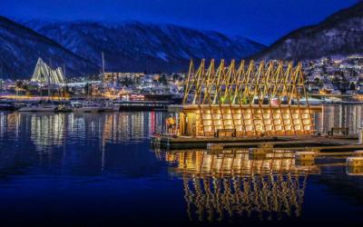 New Beautiful Floating Sauna in Tromsø Norway