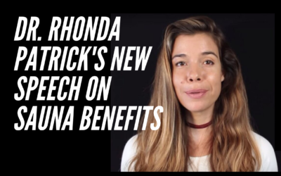 Rhonda Patrick's New Speech on Sauna Benefits