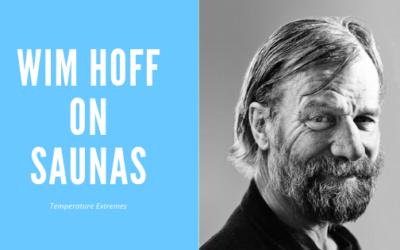 Wim Hoff on Sauna